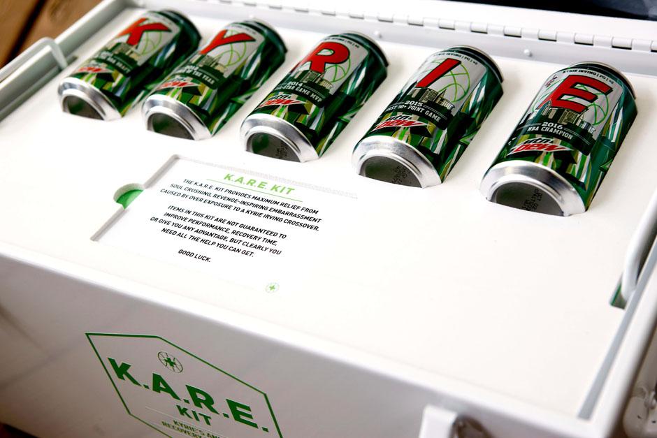 Nike Kyrie 3 Mountain Dew Exclusive