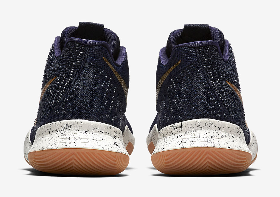 cheap for discount bf6d8 1f9ef Nike Kyrie 3 Obsidian Gold 852395-400   SneakerNews.com