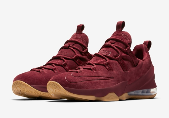 The Nike LeBron 13 Low Returns On June 1st