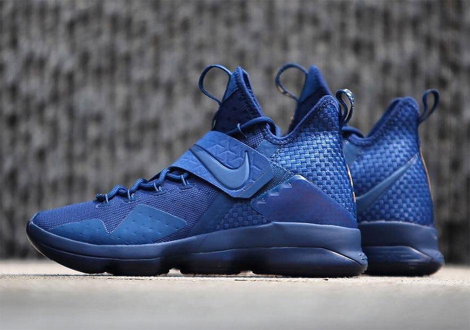 purchase cheap 337c6 a4902 Nike LeBron 14 Agimat Global Release Date 952402-400   SneakerNews.com