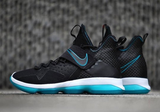 """Detailed Look At The Nike LeBron 14 """"Red Carpet"""""""