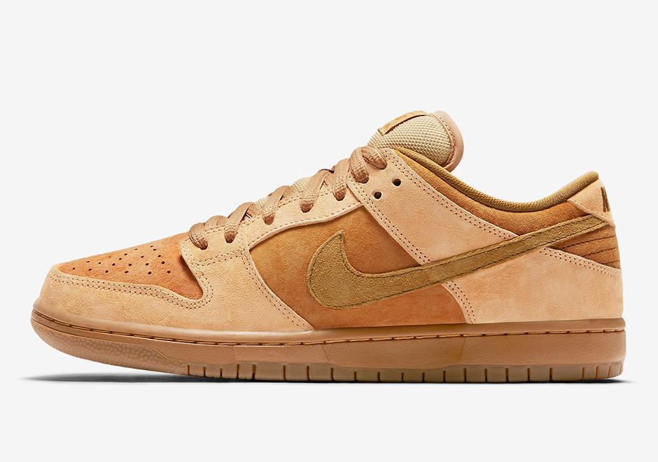 Nike SB Dunk Low Reverse Wheat Release