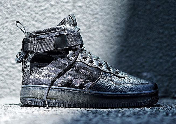 online store 7c467 65370 The Nike SF-AF1 Mid Will Debut In Tiger Camo