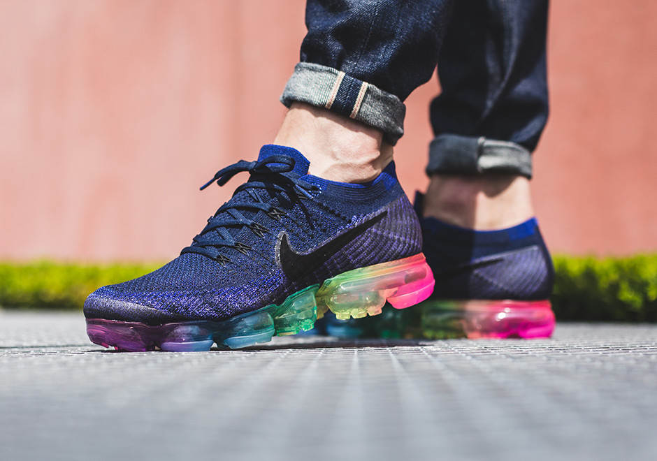 best website 8131f b54c7 Nike VaporMax Be True On Foot Preview | SneakerNews.com