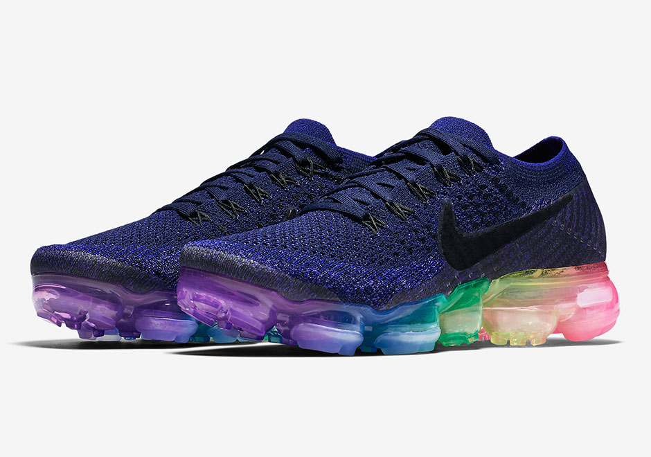 "Good news for all you sneakerheads out there  the Nike Vapormax ""Be True""  will release in both mens and womens sizes. Featuring a blue Flyknit upper  and a ... f4e2f751f"