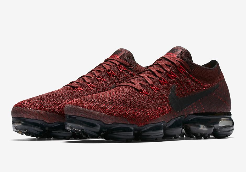 pas cher professionnel vente excellente Nike Vapeur Max Noir Et Rouge sortie obtenir authentique Whek8PB