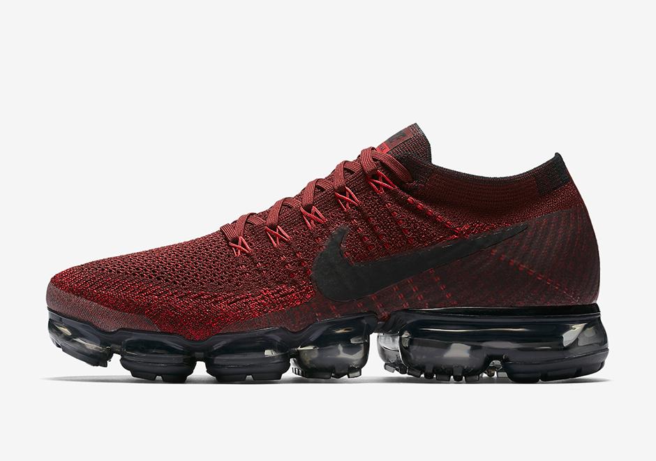 Nike Vapormax Maroon