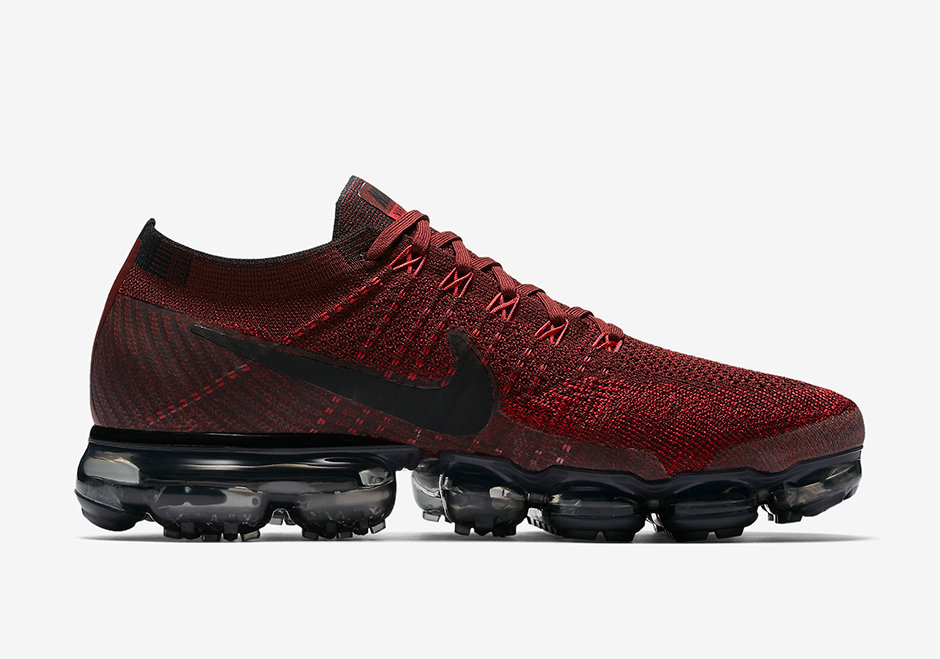 nike vapormax dark team red release date 849558 601. Black Bedroom Furniture Sets. Home Design Ideas
