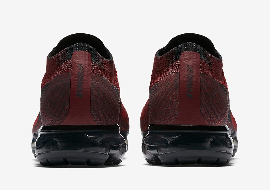 Nike Vapormax Dark Red