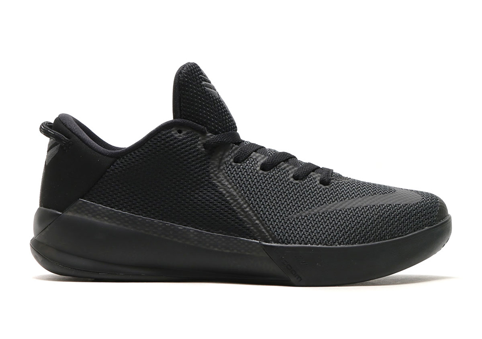 "Nike Zoom Kobe Venomenon 6 ""Triple Black"" Release Date: Summer 2017. Color:  Black/Black-Black"