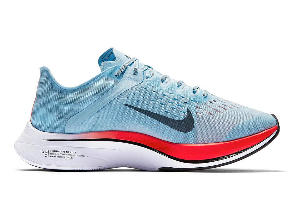 e76f04638d0d1 Color Ice BlueBright Crimson- Nike Zoom VaporFly 4% Release Date July 2017  250. Color Ice BlueBright Crimson- ...
