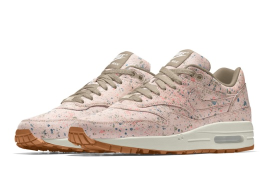 Nike Adds Splattered Upper Option For The Air Max 1 iD
