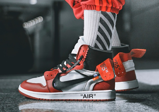 OFF-WHITE x Air Jordan 1. Release Date: September 1st, 2017