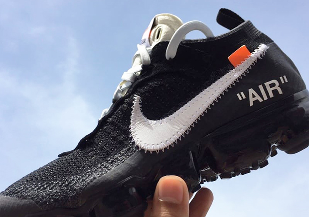 First Look At The OFF-WHITE x Nike VaporMax