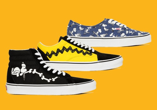 First Look At The Peanuts x Vans Collaboration