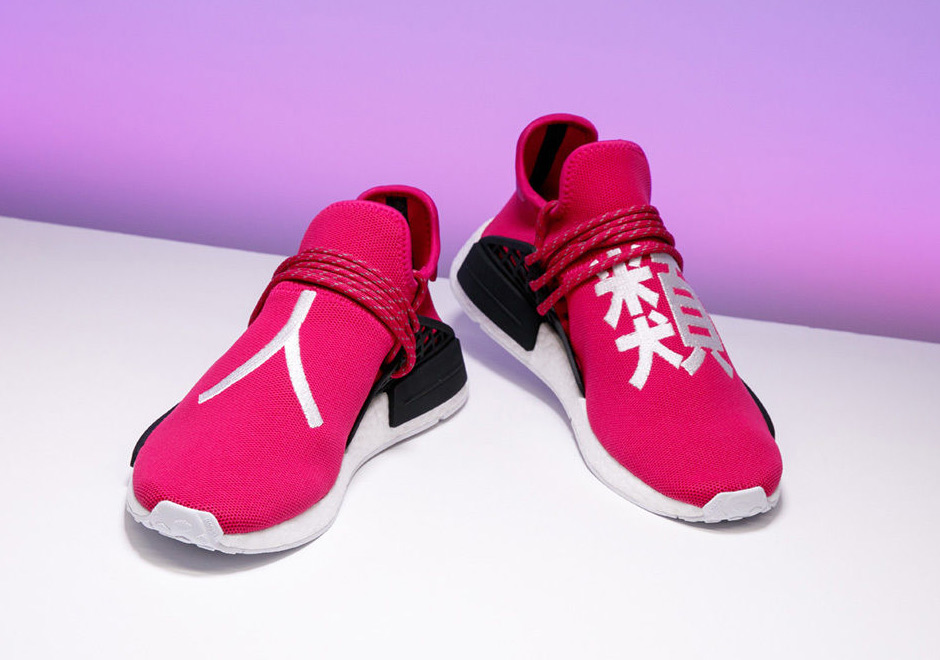 2a81bf242111d Stadium Goods Pharrell adidas NMD Shock Pink Auction For ACLU ...