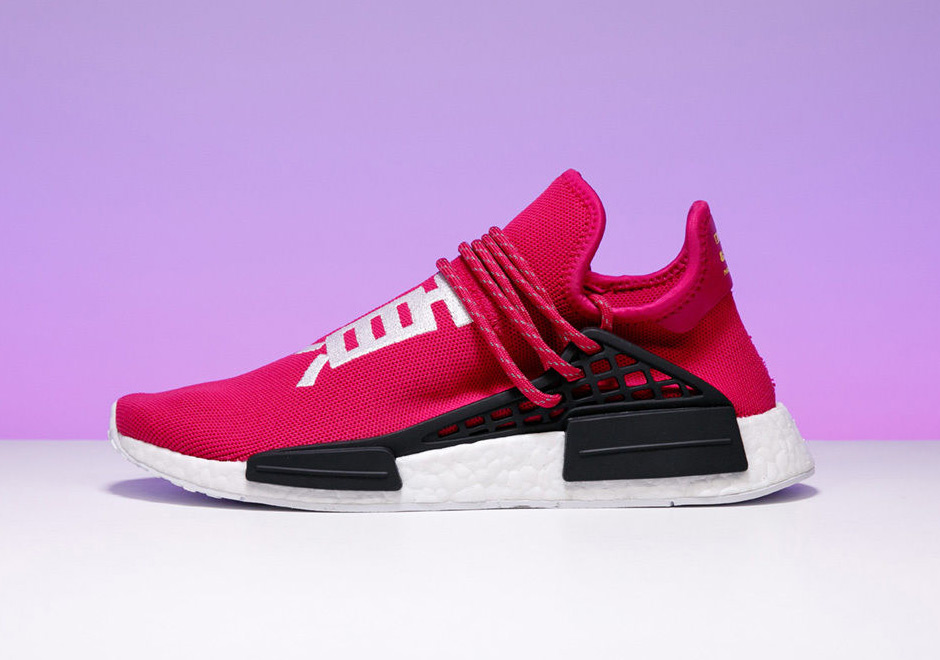 new products 44663 aebd4 Stadium Goods Pharrell adidas NMD Shock Pink Auction For ...