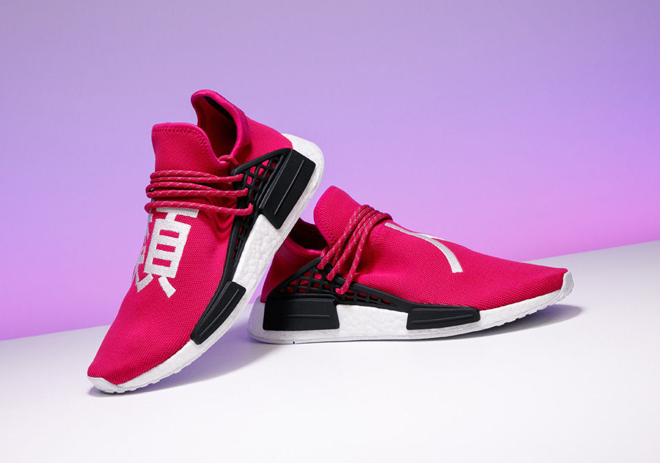 new products 5595c 2f56a Stadium Goods Pharrell adidas NMD Shock Pink Auction For ...