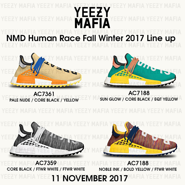 Adidas Nmd Human Race 2017