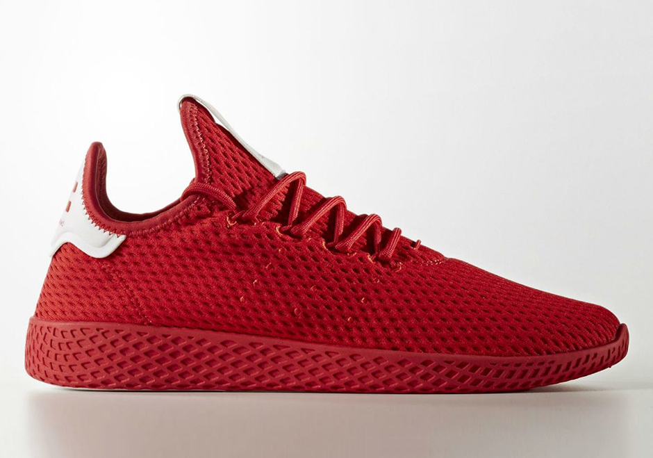 f8e2ca2b4bb65 We re still waiting on word of coming Release Dates but stay tuned for more  of the latest on Pharrell and adidas Originals  Tennis Hu model right here  on ...