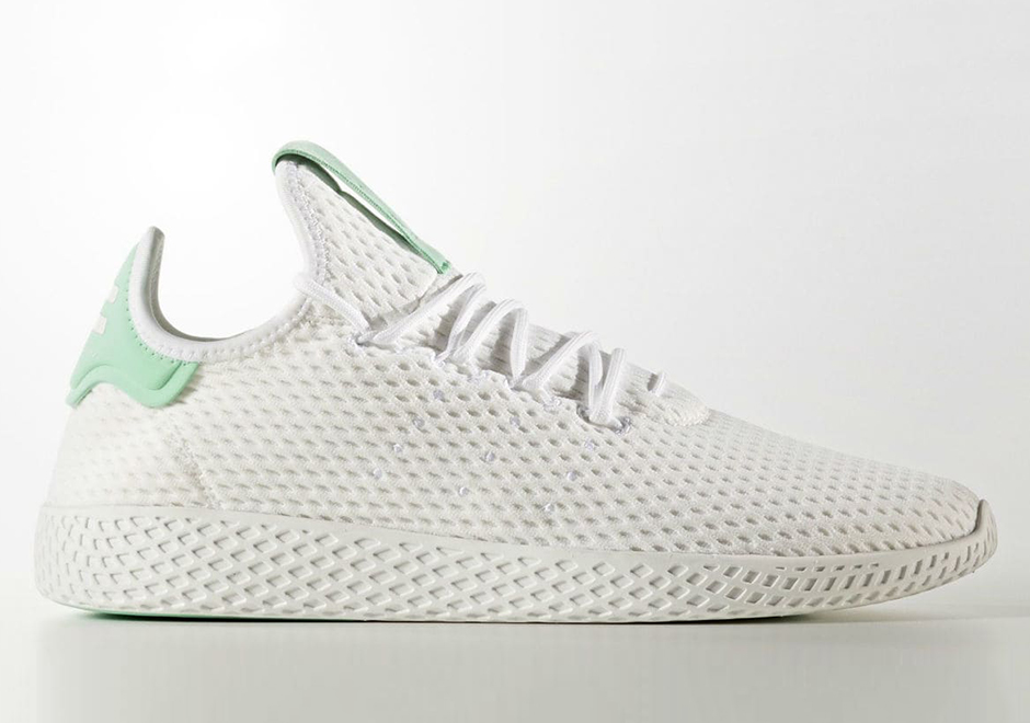 We re still waiting on word of coming Release Dates but stay tuned for more  of the latest on Pharrell and adidas Originals  Tennis Hu model right here  on ... 12525466f
