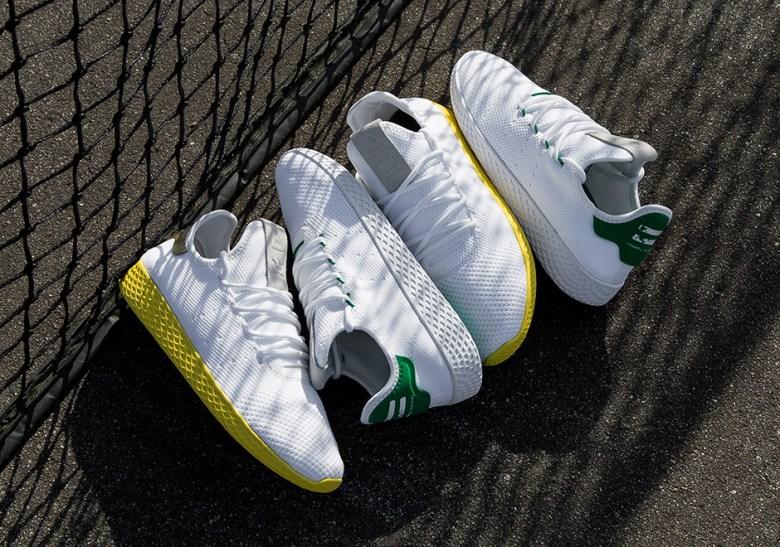Pharrell Adidas Tennis Hu Release Date Sneakernews Com