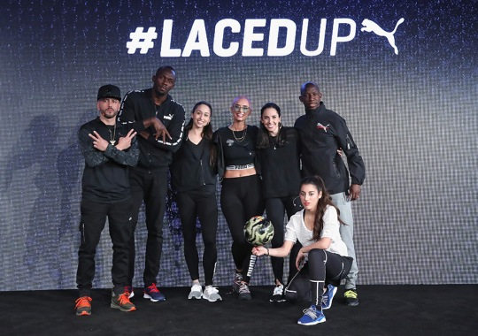 PUMA Unveils NETFIT In NYC With Usain Bolt, Yande, YesJulz, And More