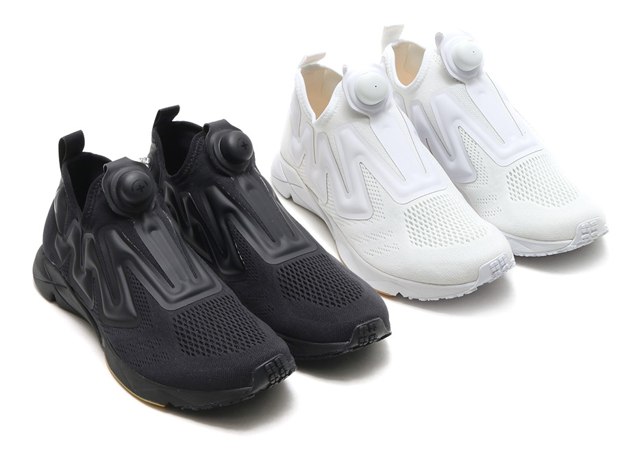 Reebok s modern lifestyle re-interpretation of the Instapump Fury is back  again this spring with two excellent new looks in Triple Black and Triple  White ... f6ebe20f9