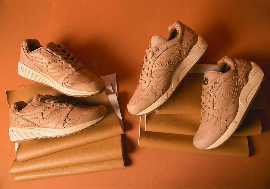 discount supply many kinds of online Saucony G9 Shadow 6 Premium 'Veg Tan' - Tan zjHlV0l