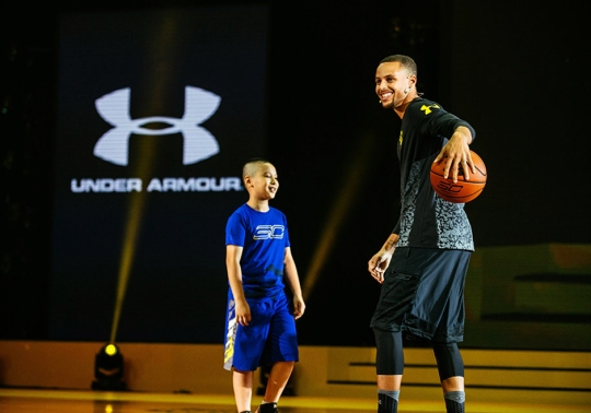 Steph Curry and Under Armour Headed To Asia For Third Straight Summer