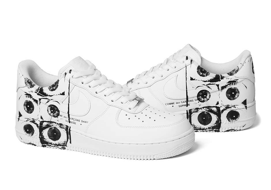 newest f7fe4 693b5 Supreme x Comme des Garçons SHIRT x Nike Air Force 1 Releases This Week