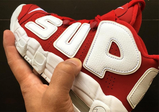 """Was A Special Supreme x Nike """"Suptempo"""" Made For Kids?"""