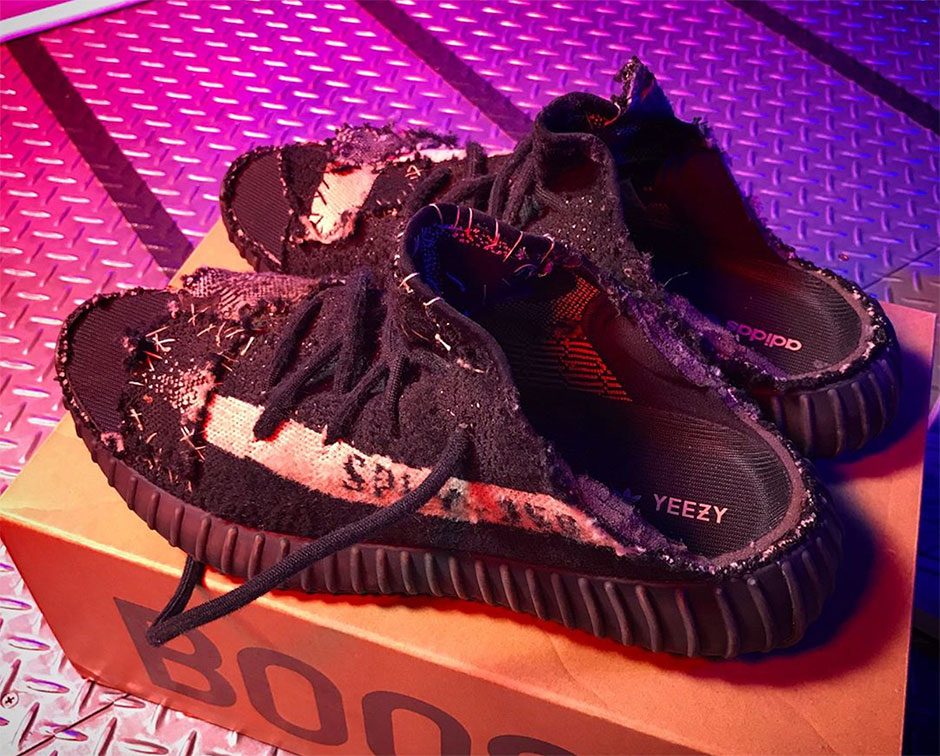 ... but it s still amazing to see the finished product from the artist  himself. See more of his work with the adidas Yeezy below. e1c6eaf6d