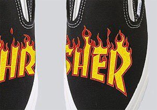 Thrasher And Vans Have A Collab In The Works Featuring The Popular Flames Logo