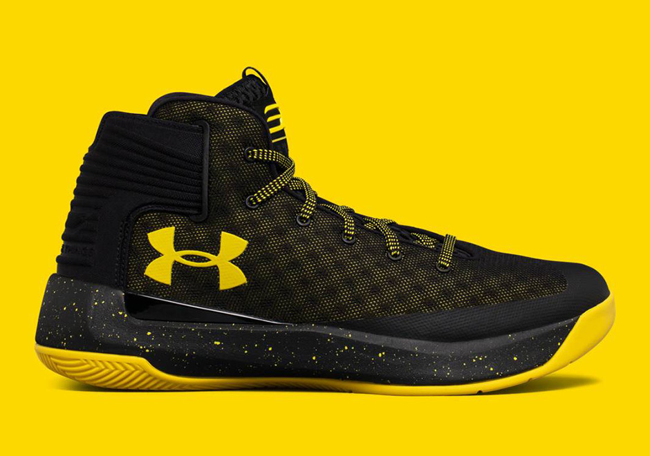 watch 2c292 203c6 Under Armour Curry 3ZER0 Black Yellow | SneakerNews.com