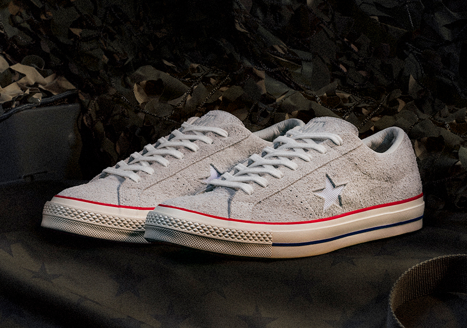 40ddfb20e13a Advertisement. UNDEFEATED x Converse One Star
