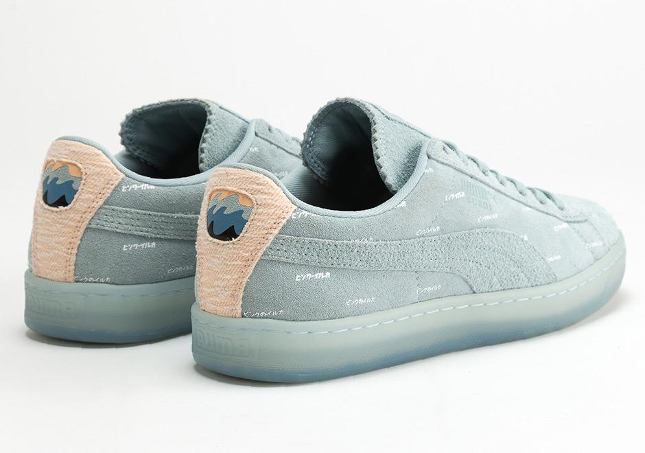 Puma Zapatos De Gamuza Rosa Delfines gf8uueq