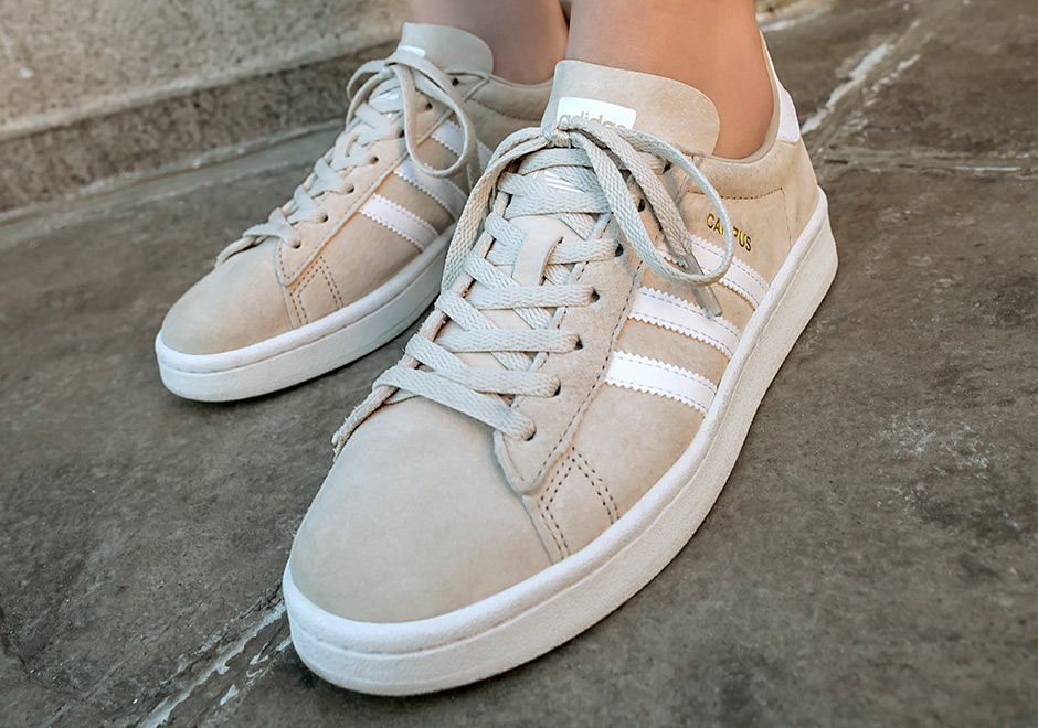 lowest price e7b0a d4acf adidas Campus Women s Clear Brown BY9846 SneakerNews com