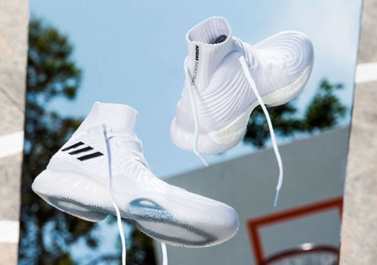New adidas Crazy Explosive '17 Primeknit Is Ready To Release In Asia