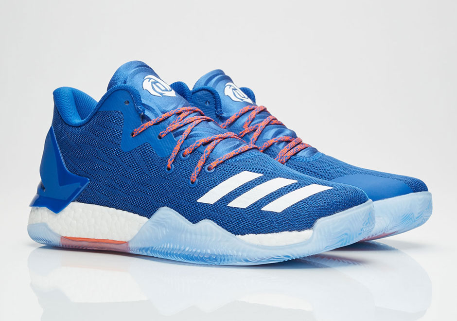 485bb94977d2 Adidas D Rose 7 Primeknit All Star Grey Orange Grey Men s Basketball Shoes