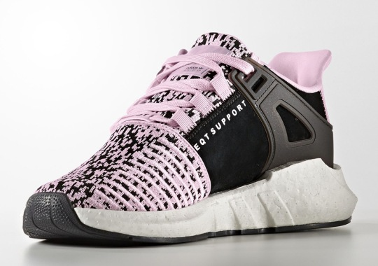 Closer Look At The adidas EQT Support 93/17 Boost In Pink