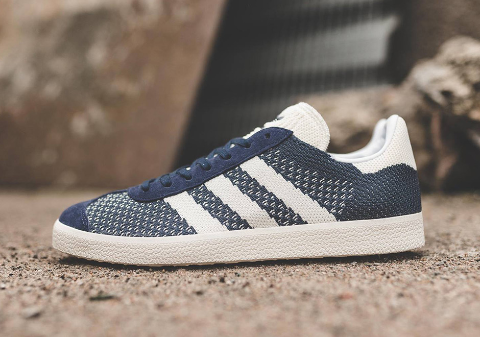 amazing selection fashion styles speical offer adidas Gazelle Primeknit Navy BY9779 | SneakerNews.com