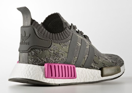 The adidas NMD R1 Primeknit Releasing In Utility Grey Camo