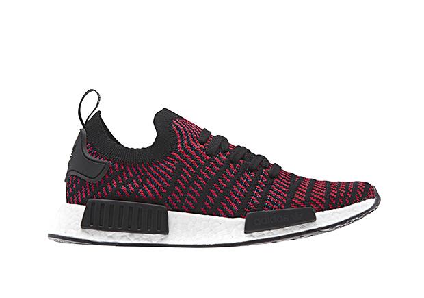adidas NMD R1 STLT Release Date: 2018. Style Code: CG2385 (Red) Style Code:  CG2386 (Black) Style Code: CG2387 (White) Style Code: CG2388 (Blue)