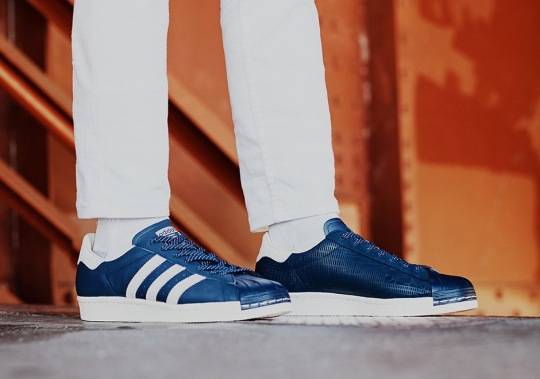 These adidas Originals Superstars Feature A Map Of New York City