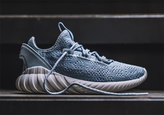 The adidas Tubular Doom Soc Coming In Blue And Pink Options