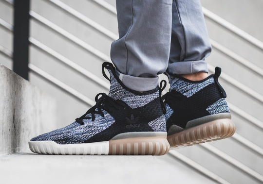 The adidas Tubular X Primeknit Returns With Gum Soles