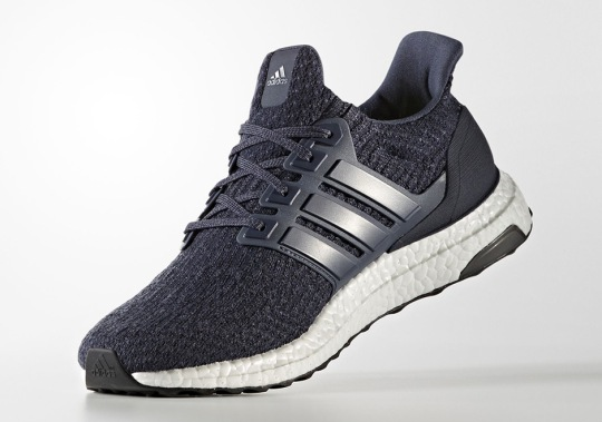 The adidas Ultra Boost 3.0 Gets A Tonal Indigo Colorway With Just a Touch of Neon
