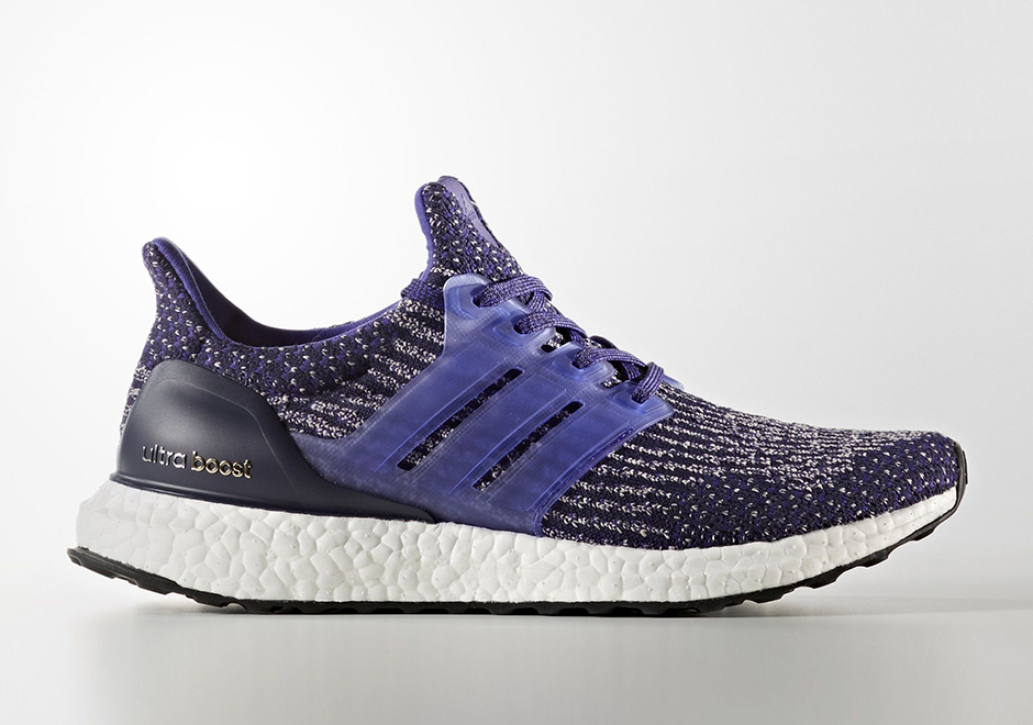 a0281f485 adidas Ultra Boost Parley Men s Running Shoes White Icey Blue