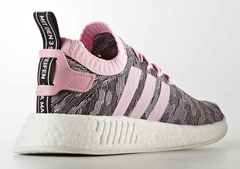adidas W NMD R2 Primeknit Global Release Date: July 13th, 2017. Color:  Wonder Pink/Wonder Pink/Core Black